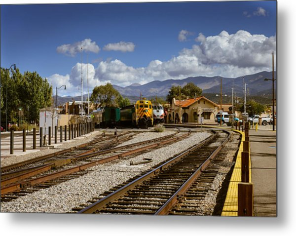 Santa Fe Rail Road Metal Print