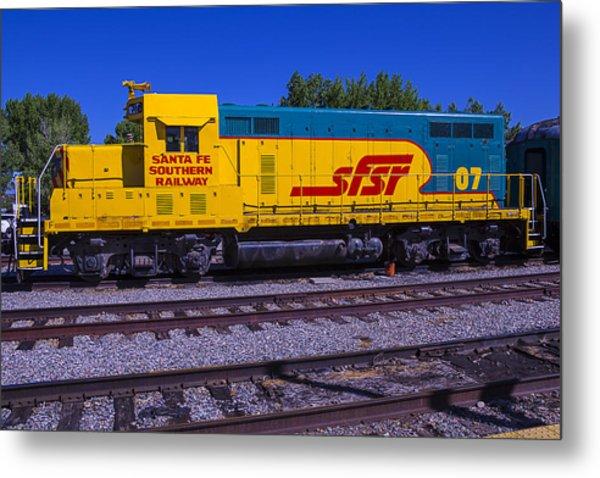 Santa Fe Southern Railway Engine Metal Print