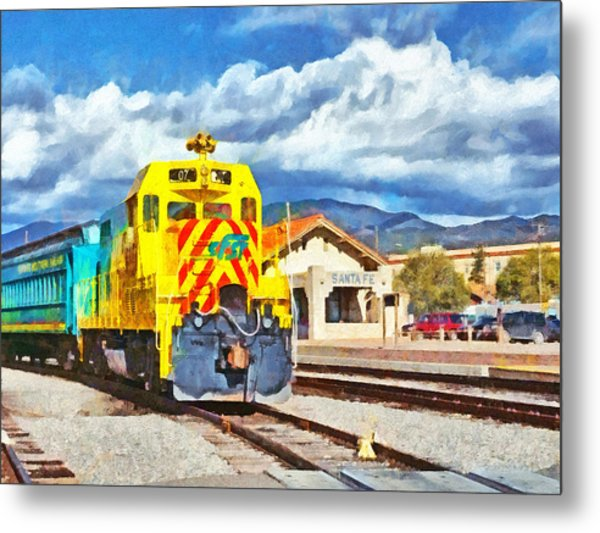 Santa Fe Southern Railway Train Metal Print