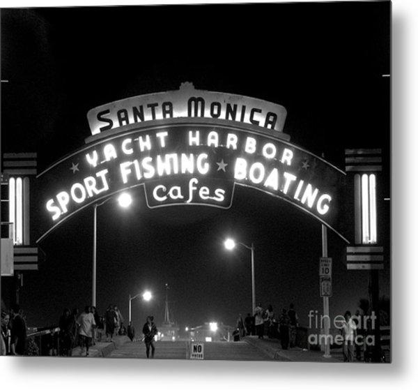 Santa Monica Pier 1 Metal Print