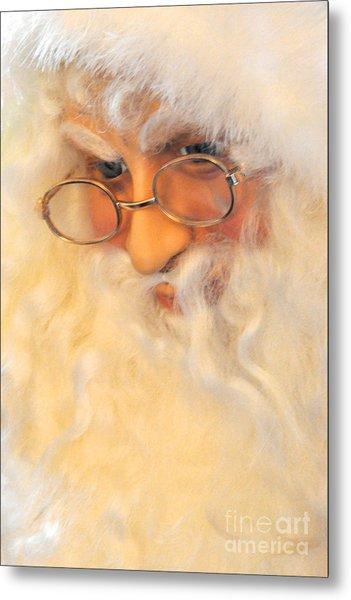 Santa's Beard Metal Print
