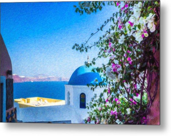 Santorini Grk4166 Metal Print