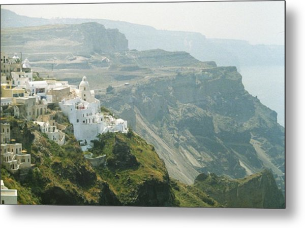 Metal Print featuring the photograph Santorini by Susie Rieple