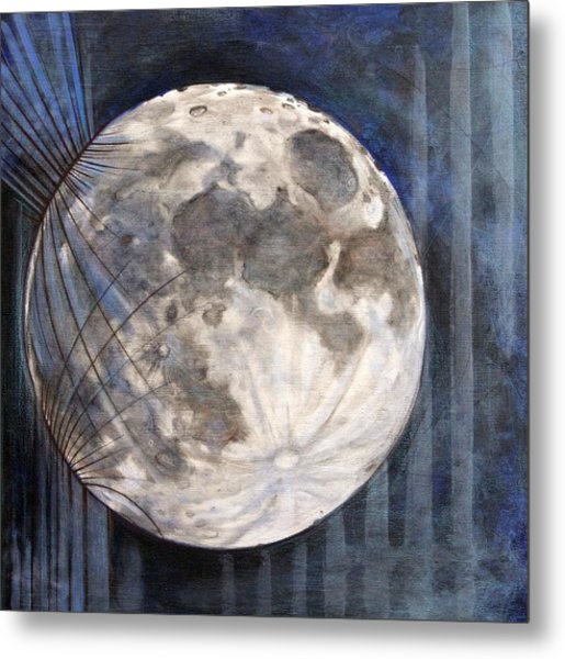 Satellite  Metal Print by Stacey Sherman