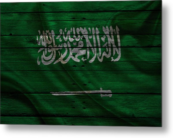 Saudi Arabia Metal Print