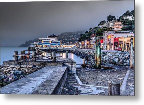 Sausalito Waterfront 3 Metal Print