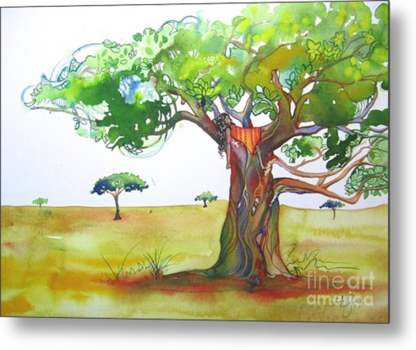 Savannah Metal Print by Maya Simonson