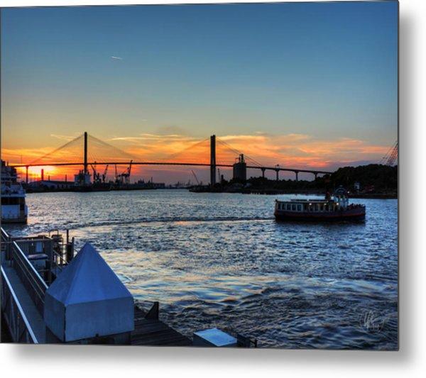 Savannah River 001 Metal Print