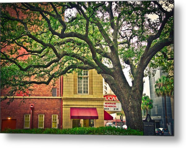 Savannah Square Metal Print