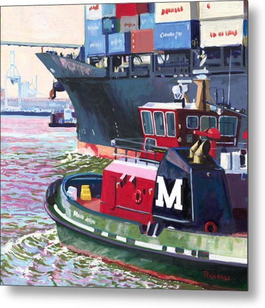 Savannah Tug Metal Print