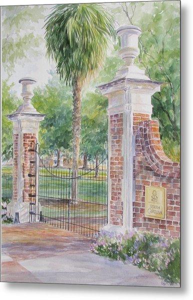 South Carolina. Horseshoe Sold Metal Print