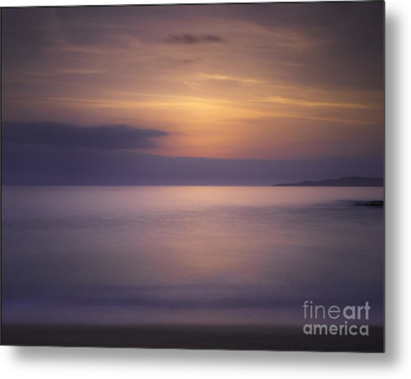 Scarasta Sunset No1 Metal Print by George Hodlin