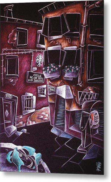 Scarpe Da Tango - Contemporary Venetian Artist - Modern Art Metal Print by Arte Venezia