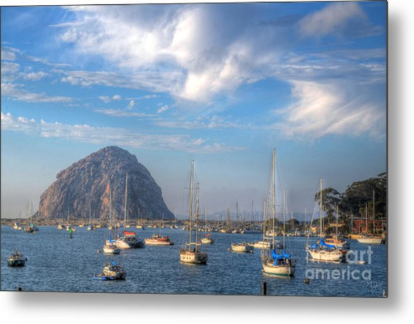 Scene On The Bay Metal Print