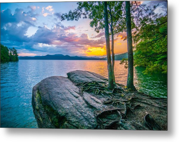 Metal Print featuring the photograph Scenery Around Lake Jocasse Gorge by Alex Grichenko