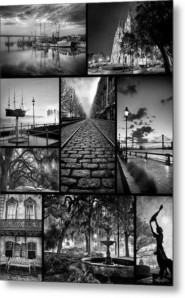 Scenes From Savannah Metal Print