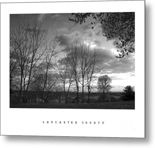 Scenic Lancaster County Metal Print