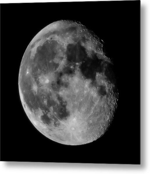 Scenic View Of Full Moon Metal Print by Jens Mayer / Eyeem
