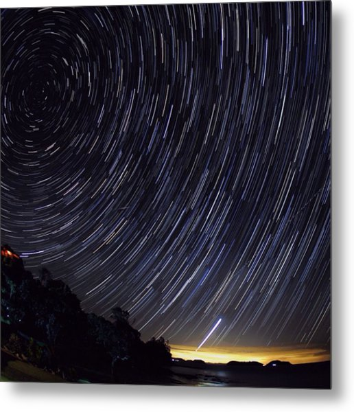 Scenic View Of Night Sky Metal Print by Brent Purcell / Eyeem