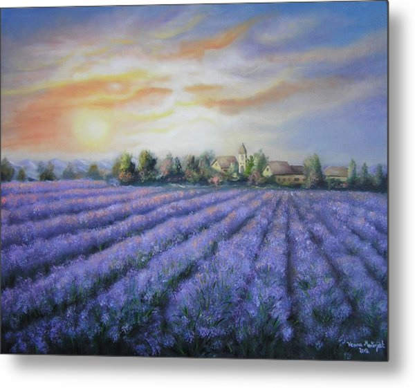 Scented Field Metal Print