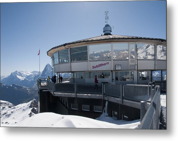 Schilthorn Metal Print by David Yack