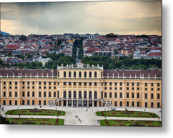 Schonbrunn Windows Metal Print by Viacheslav Savitskiy
