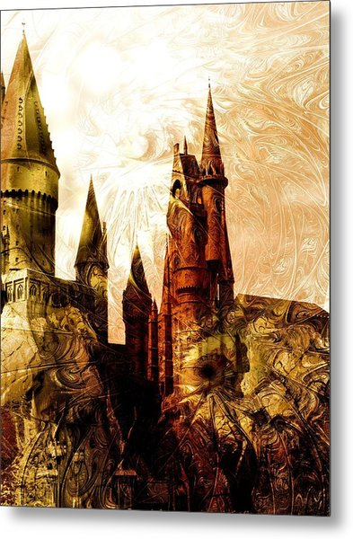 School Of Magic Metal Print