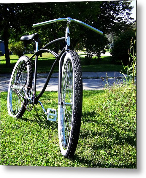 Schwinn 2 Metal Print by Dj Thompson
