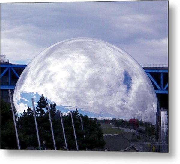 Science Museum Paris Metal Print