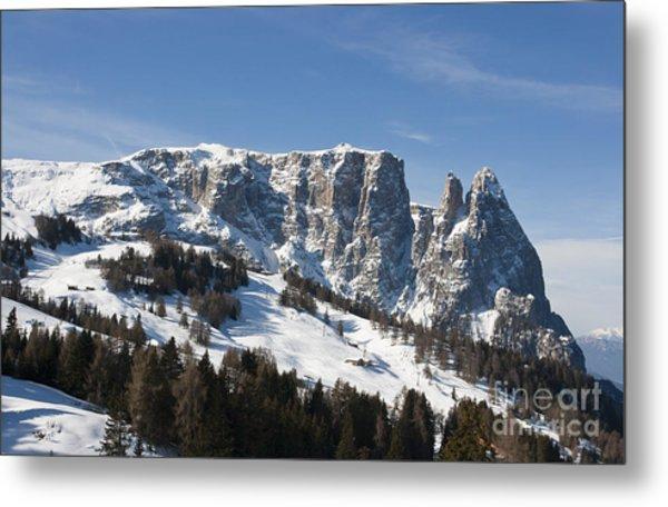Sciliar's Mountains Metal Print by Pier Giorgio Mariani