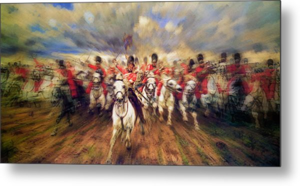 Scotland Forever During The Napoleonic Wars Metal Print