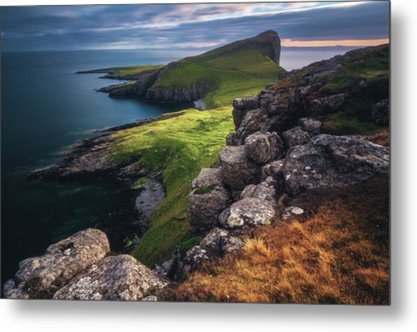 Scotland - Neist Point Metal Print