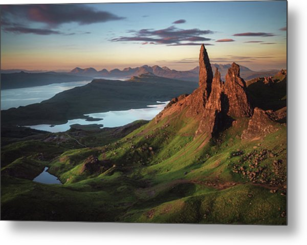 Scotland - Old Man Of Storr Metal Print
