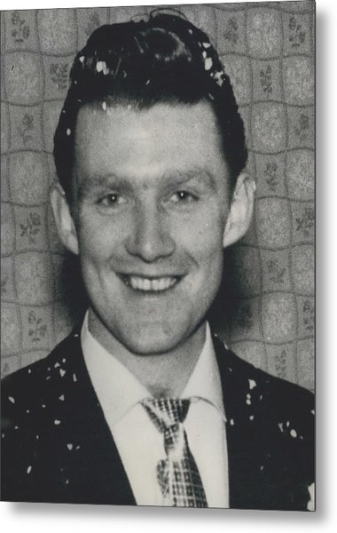 Scotland Yard Officials Want To Interview This Man Metal Print by Retro Images Archive