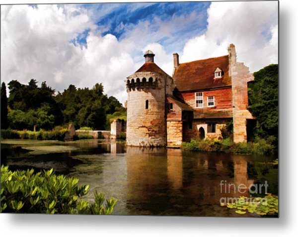 Scotney Castle Metal Print