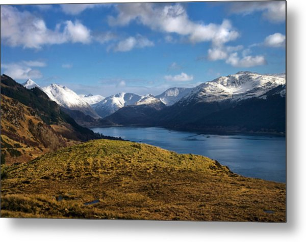 Scottish Light Metal Print