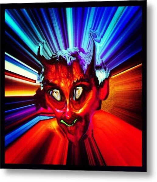 Screwtape - A Younger Novice Devil Metal Print