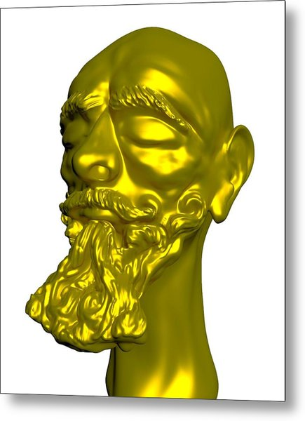 Sculpture Metal Print by Moshfegh Rakhsha