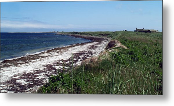 Scuthvie Bay And Start Point Metal Print by Steve Watson