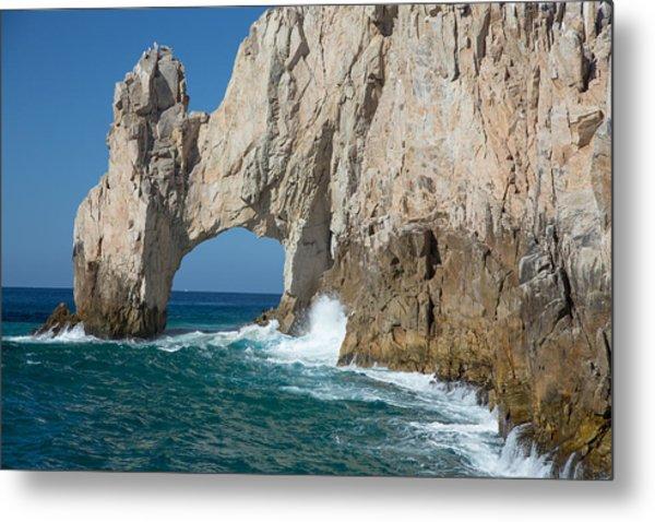 Sea Arch El Arco De Cabo San Lucas Metal Print