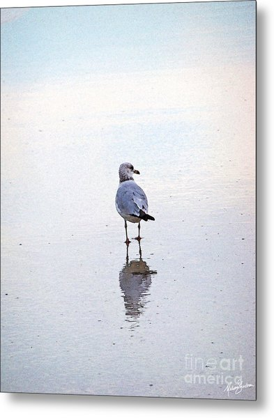 Sea Birds No.3 Metal Print