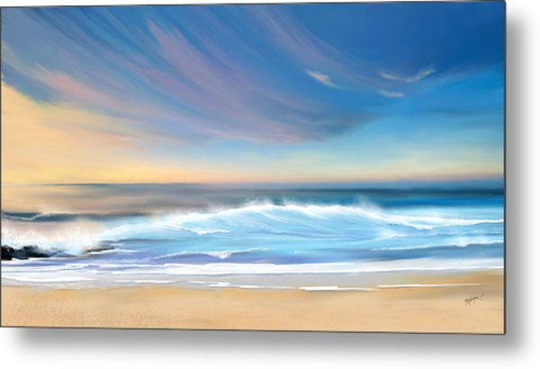 Sea Coast Escape Metal Print