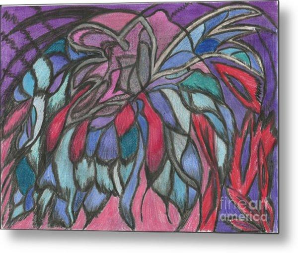 0044 Sea Flower Metal Print by Essel Emve