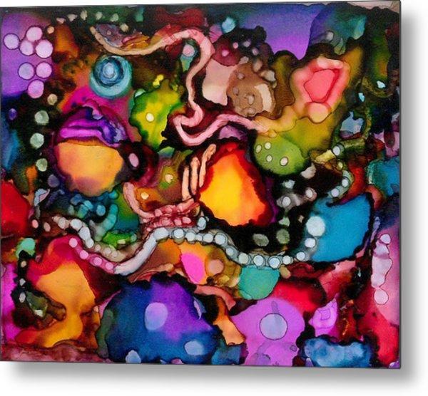 Sea Jewels Metal Print