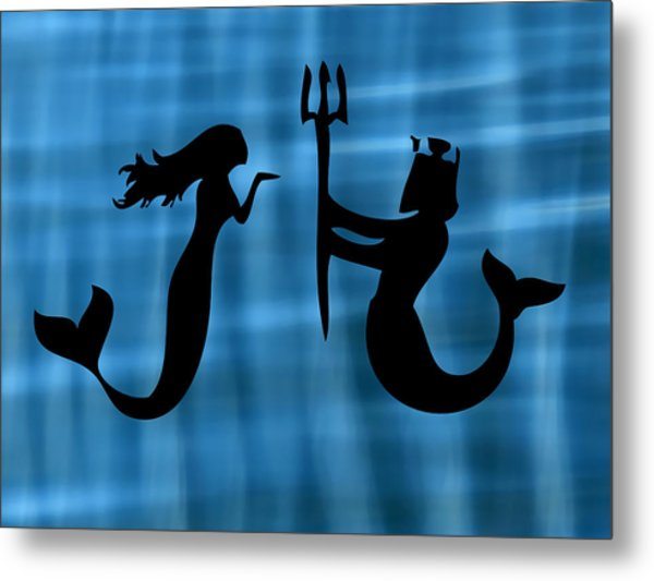 Sea Lovers Metal Print by Kenneth Feliciano