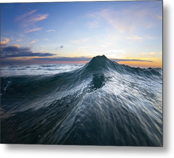 Sea Mountain Metal Print
