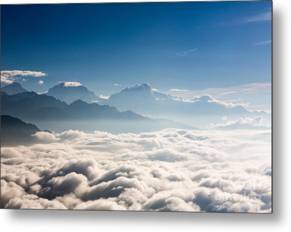Sea Of Clouds Metal Print