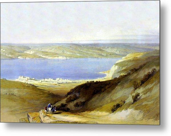 Sea Of Galilee Metal Print