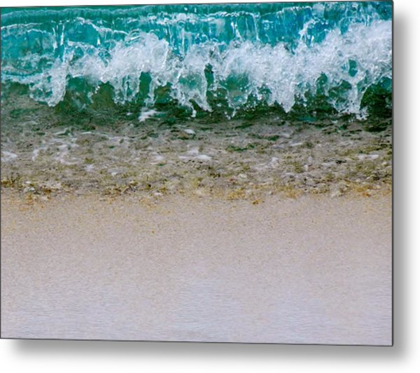 Sea Shore Colors Metal Print
