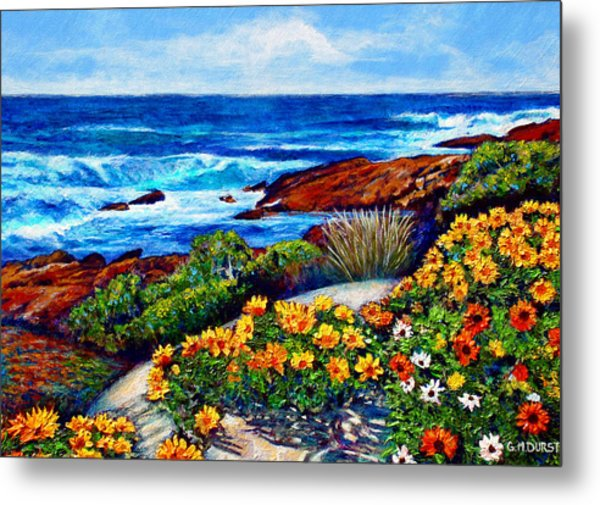 Sea Side Spring Metal Print by Michael Durst